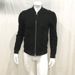 Allsaints Men's Black Armoury Leather Jacket